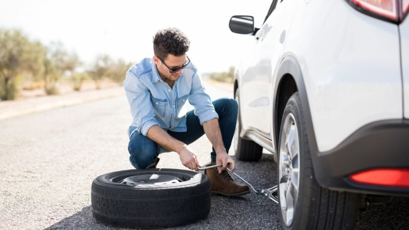 Safely Change a Tire Fast