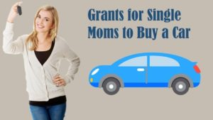 single mom help with getting a car