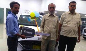 Hyundai aura delivery
