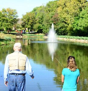 Fishing pond grants