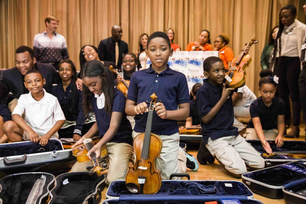 Grants for musical instruments for schools